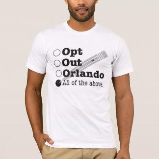 T-shirt Choisissent Orlando - désobéissance civile