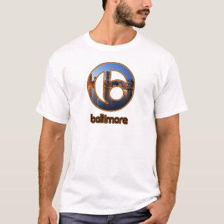 T-shirt Choses de Baltimore