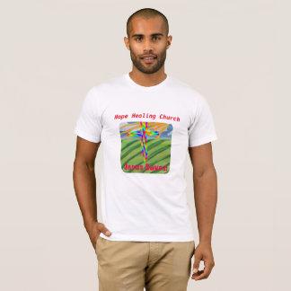T-shirt chrétien de ferme d'église curative