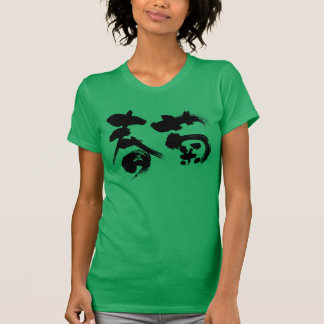 T-shirt [Chrysanthème de guirlande de kanji]