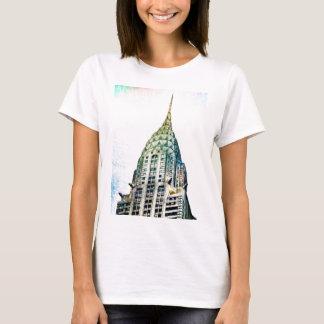 T-shirt Chrysler construisant - congelé - New York City
