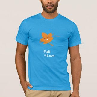 T-shirt Chute dans l'amour - érable