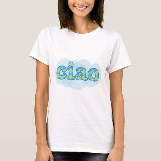 T-shirt ciao italien avec le Jacquard