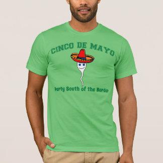 T-shirt Cinco De Mayo, partie au sud de la frontière
