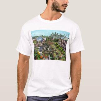 T-shirt Cinquième pièce en t sacrée de ville