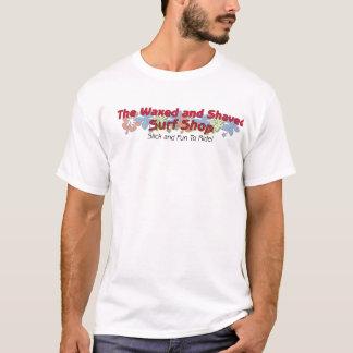 T-shirt Ciré et rasé