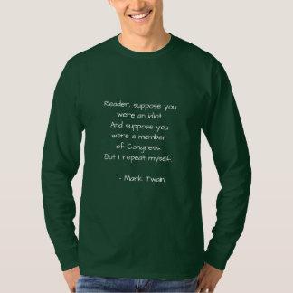 T-shirt Citation célèbre sur le congrès