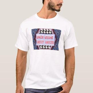 T-shirt Citation de fromage de slogan de Kimchi de
