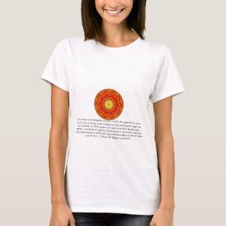 T-shirt CITATION de Johann Wolfgang von Goethe