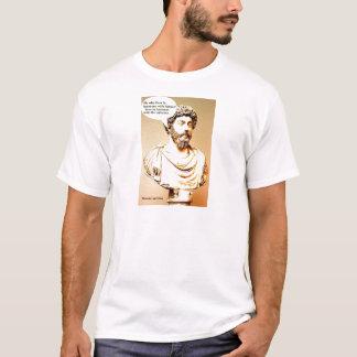 T-shirt Citation de MARCUS AURELIUS - il qui vit dans des