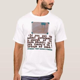 T-shirt Citation de Milton Friedman sur l'efficacité de