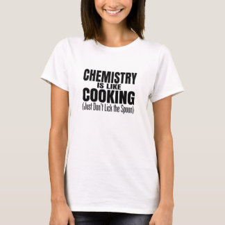 T-shirt Citation drôle de professeur de chimie