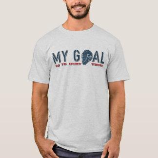 T-shirt Citation Shirsey de gardien de but de lacrosse