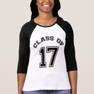 T-shirt Classe de 17