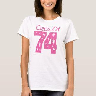 T-shirt Classe du cadeau 1974