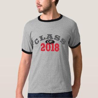 T-shirt Classe du rouge 2018