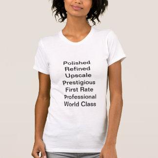 T-shirt Classieux de raffinage poli