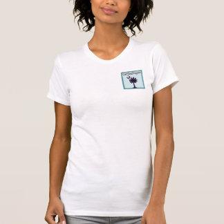 T-shirt classique de dames de Palmetto de