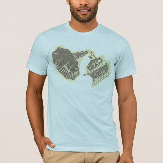 T-shirt classique de phonographe