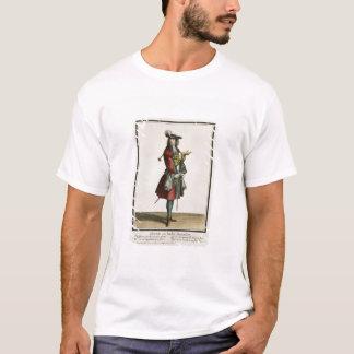 T-shirt Cleante s'est habillé en tant que cavalier, le