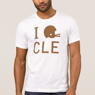 T-shirt Cleveland - brun