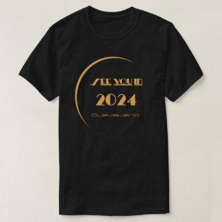 T-shirt Cleveland d'éclipse