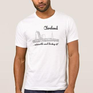 T-shirt Cleveland - malheureux et l'aimant !