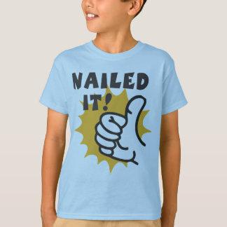 T-shirt Cloué lui !