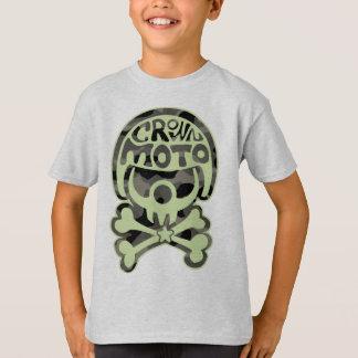 T-shirt Clown de Moto (camo vert)