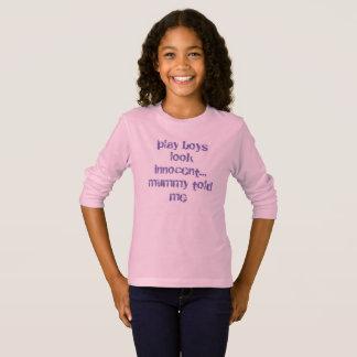 T-shirt club d'amusement de filles