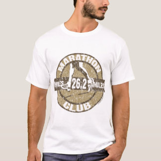 T-shirt Club de marathon
