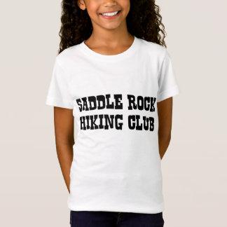 T-Shirt Club de randonnée de roche de selle - pièce en t
