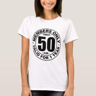 T-shirt Club enfin 50