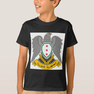 T-shirt Coat_of_arms_of_Syria-1957