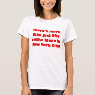 T-shirt Cobra lâche d'Egyptien de zoo de Bronx