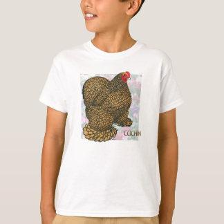 T-shirt Cochin :  poule Or-lacée