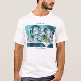 T-shirt Cocktails à la chemise deux