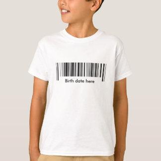 T-shirt Code barres