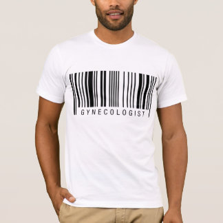 T-shirt Code barres de gynécologue