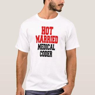 T-shirt Codeur médical marié chaud