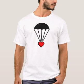 T-shirt Coeur au parachute