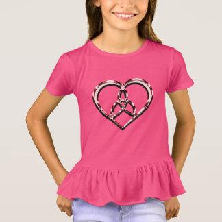 T-shirt coeur celtique