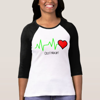 T-shirt Coeur de cardiogramme d'ECG