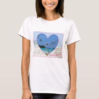 T-shirt Coeur de Frangipani