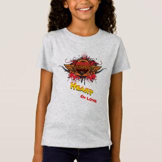 T-Shirt Coeur de l'amour