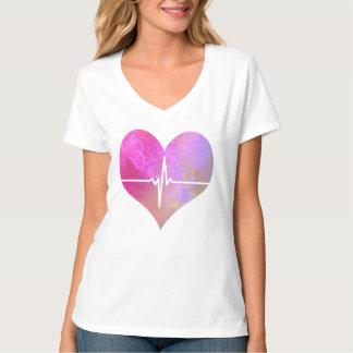 T-shirt Coeur de l'aquarelle ECG