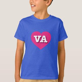 T-shirt Coeur de roses indien de la Virginie - grand amour