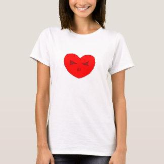 T-shirt Coeur de subordonné