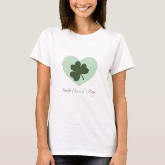 T-shirt Coeur du jour de Patrick de saint
