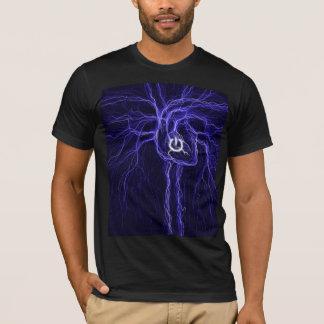 T-shirt Coeur électrique